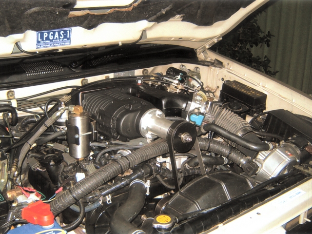Pathfinder Turbo >> Holden Supercharger on a VG33 R50 Pathfinder - with ...